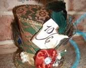 Mad Hatter Replica Mini Top Hat