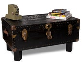 Steamer Trunk Coffee Table RESERVED