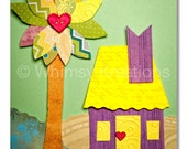Children's Art, Nursery Art, Kids Decor, Nursery Wall Art, 202 Swallowbee Lane