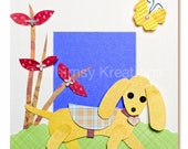 Children's Art, Nursery Art, Kid's Decor, Kid's Art, Nursery Art - Little Doxie