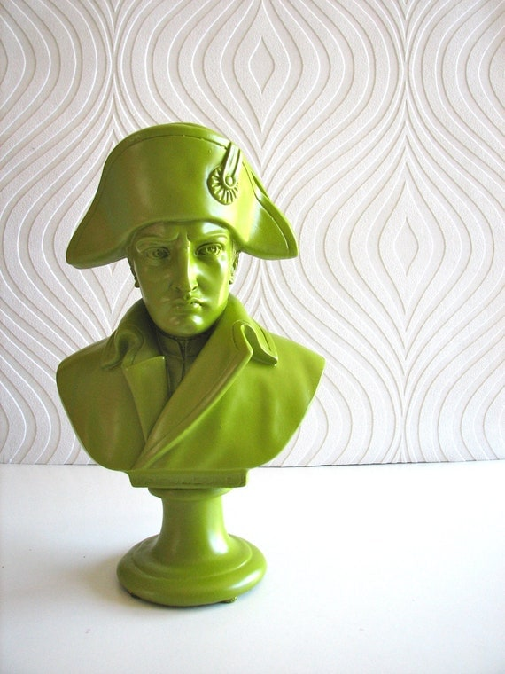 SALE Mr. French Guy Napoleon in chartreuse