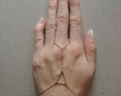 Elevate Bracelet - Geometric, Triangle, Chain, Handpiece