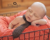 Lil Man Crochet Neck Tie Photography Photo Prop Made to Order One Size Adjustable