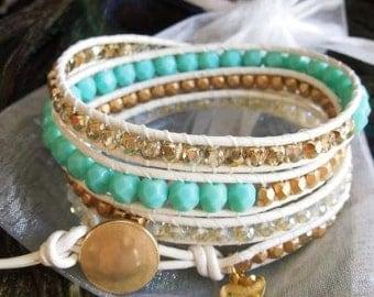 Alison in Wonderland Wrap Bracelet