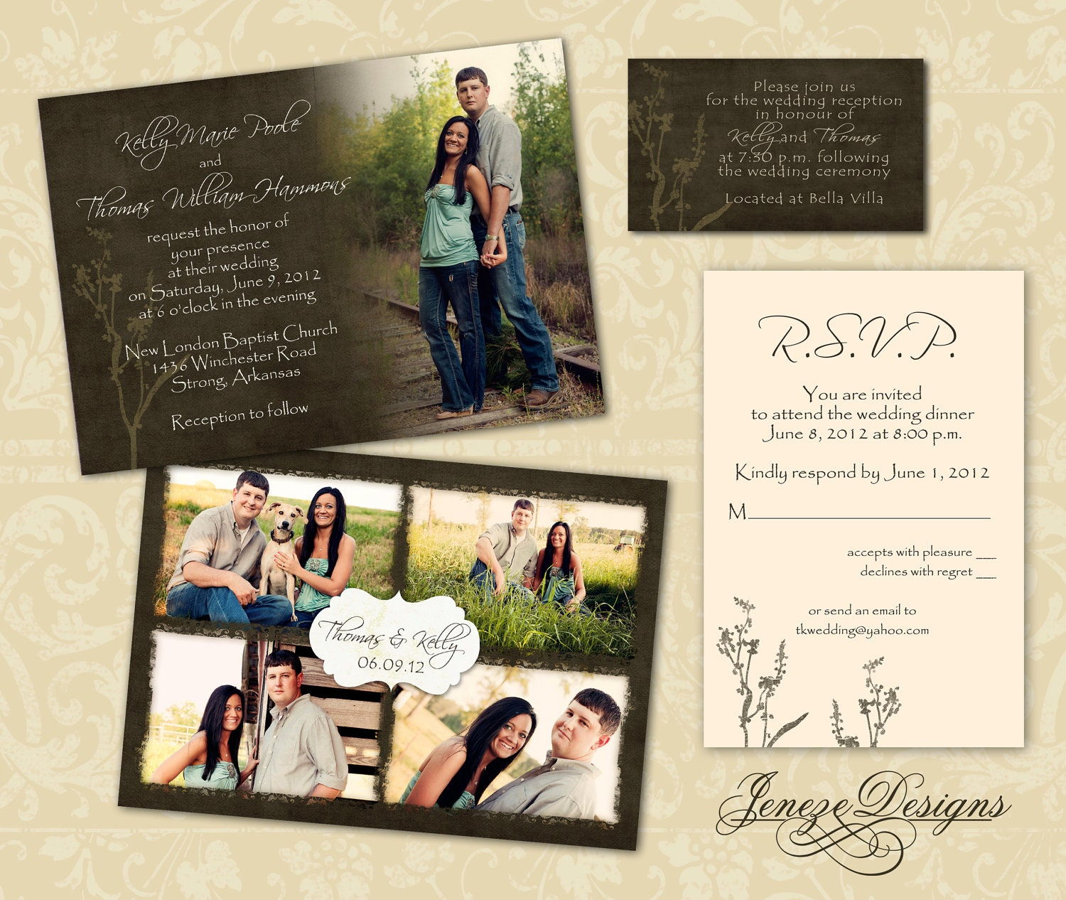 wedding invitation template photographers and photoshop With wedding invitation designs in photoshop