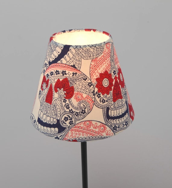 Skull Lamp Mexican and Skull Lampshade