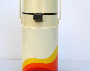 Retro Coffee/Tea Airpot Thermos