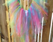 The Good Time TuTu Rainbow Bustle Train Rave Fairy Costume all sizes
