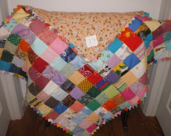Baby boy or girl quilt or lap quilt-77
