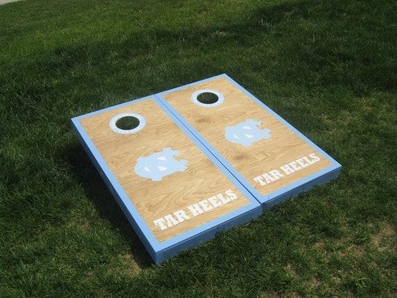 North Carolina Tar Heels Cornhole Boards By