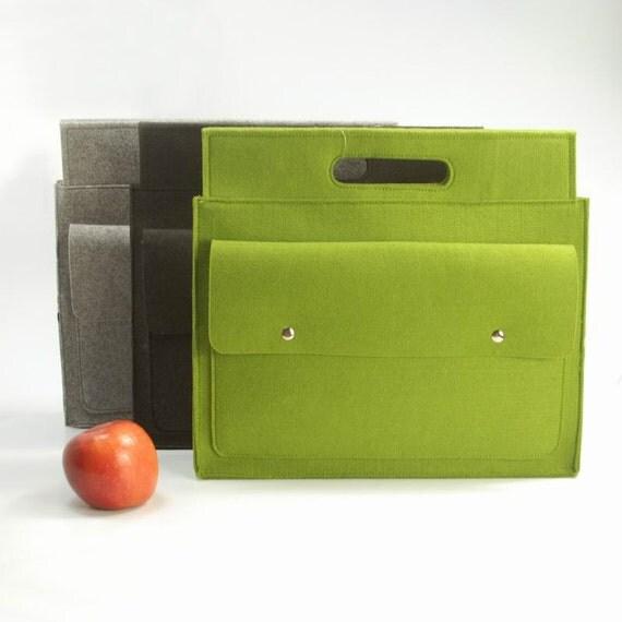 "TFelt Laptop Macbook Sleeve Laptop Case Laptop Cover Wallet Bag Laptop Tote for Macbook Air New Old Pro13"" E686"