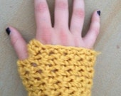 Mustard Yellow Wrist Warmer