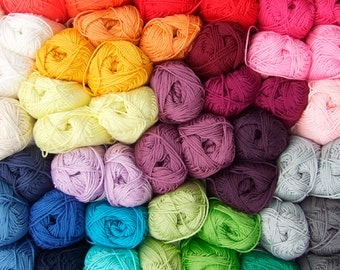 400 g Catania by Schachenmayr, 100% Cotton, all colors in stock
