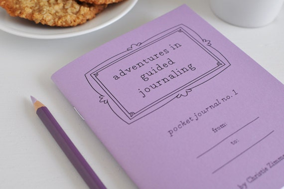 Pocket Journal no. 1 - Purple Cover