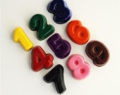 Number Crayons - Set of 9, educational, learning - ColourMeFun