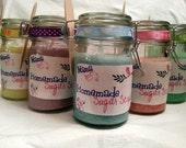 Body Sugar Scrub-Lot of 10 Jars, Mix & Match or all the same