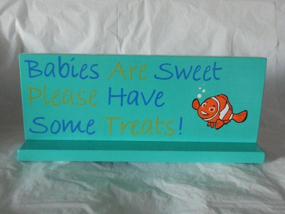 Custom baby shower signage/ candy bar/ treat bar signs