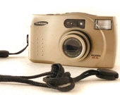 WORKING Samsung Maxima 60XL Point and Shoot 35mm Film Pocket Camera