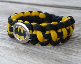 Batman Paracord Survival Bracelet
