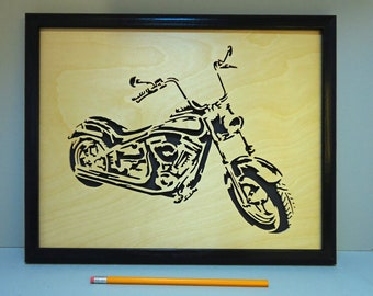 Motorcycle - Wall Hanging