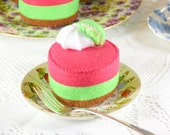 Strawberry Lime Mousse Play Food
