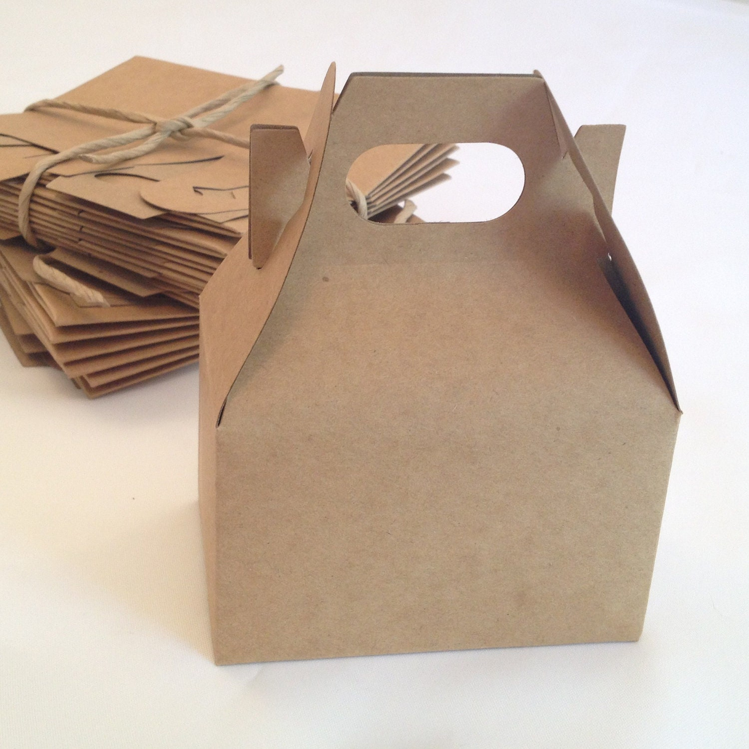 wedding favor boxes diy small kraft gable gift box by nikkipoparts
