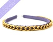 NEW Lolabellas Chain Headband - Lavender