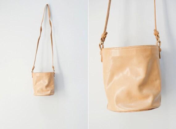 Vintage Bottega Veneta Bucket Bag, Size Medium/ Designer Leather Purse/ Bottega Veneta