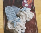 Classic Crochet Slippers by Annie