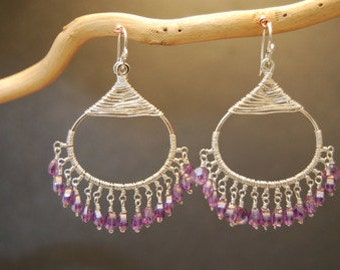 Amethyst earrings Kashmir 41