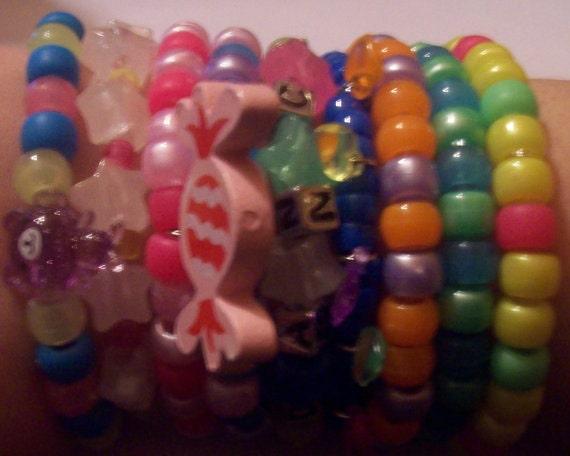 Kandi Mystery Mix - 10 Random Bracelets