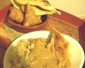 Tandoori Masala Meal Combo, Naan Bread, Samosas and Basmati Rice, Dinner