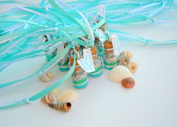 Mermaid  Necklaces, Mermaid Party Favors, Mermaid Party, aqua, blue, green, silver