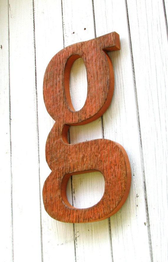 big wooden letters items similar to large wooden letter g lowercase painted 17892