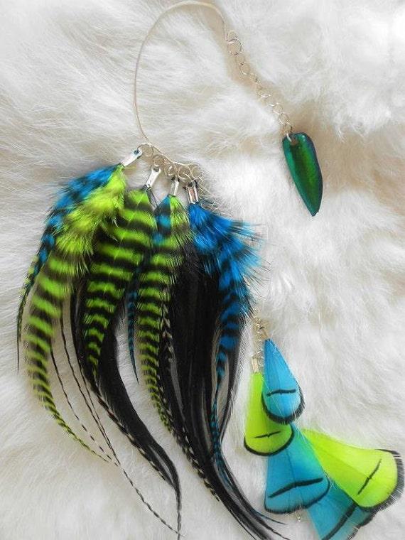 Feather Ear Cuff -Electron-