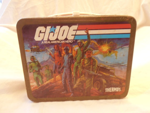 1982 Metal GI JOE Lunch Box