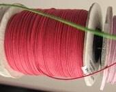 Waxkoord 1 mm - verschillende kleuren - appelgroen, fuchsia, lavendel/licht paars, turquoise, donkerpaars, bruin