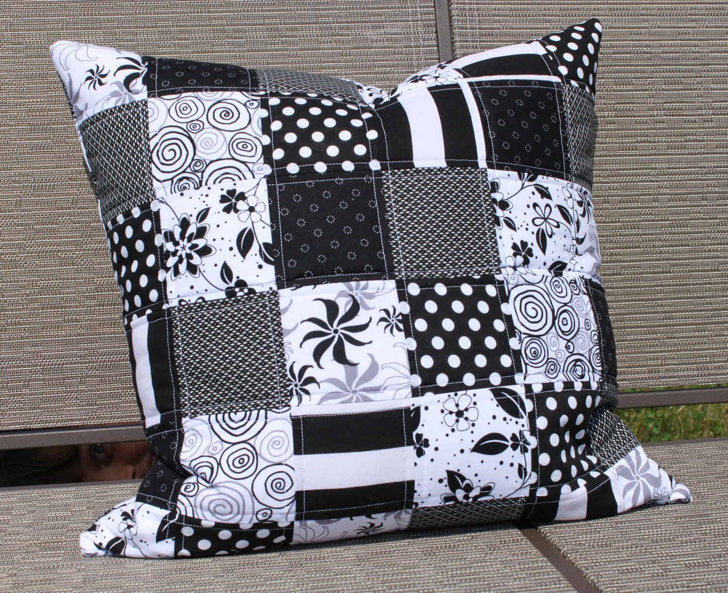 Modern Quilted Pillow Covers : Unavailable Listing on Etsy