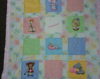 Animal Baby Quilt