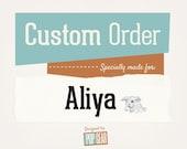 Custom Listing for Aliya