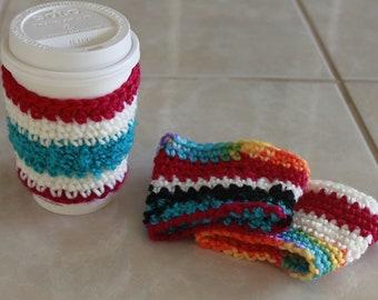 Crochet Cup Cozy Set (3 Piece Set)