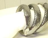 Whiting & Davis Vintage Snake Bracelet