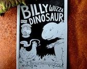 Billy Wuzza Dinosaur No.1 comic zine