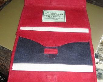 Civil War  Oil Cloth Three Fold Wallet