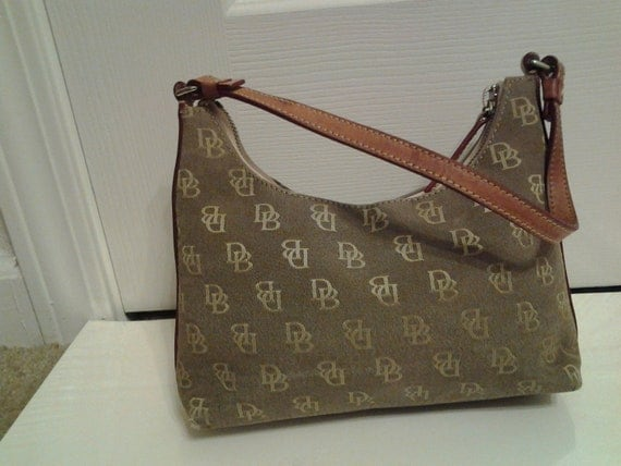 Brown Signature Dooney and Bourke