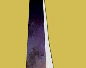 Purple Fade Custom Men's Necktie