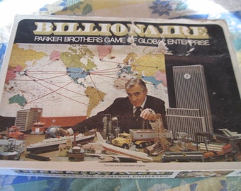 Billionaire Game  1973 PARKER BROTHERS :)S