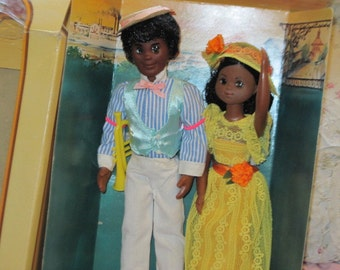 Sunshine Family Dolls, Rare Hard to Find Sunshine Family Jazz Performers Dolls Star Spangled Mattel Dolls, NOT Included in Clearance Sale