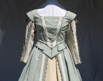Renaissance Aqua Court Dress