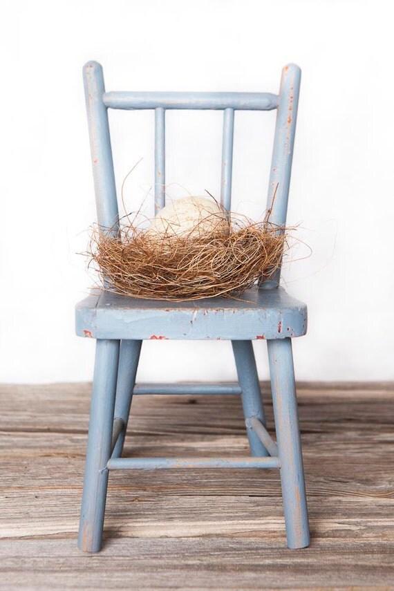 Adorable blue chair
